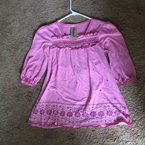 Pretty Pink Color Girls' Size Large Blouse/Top
